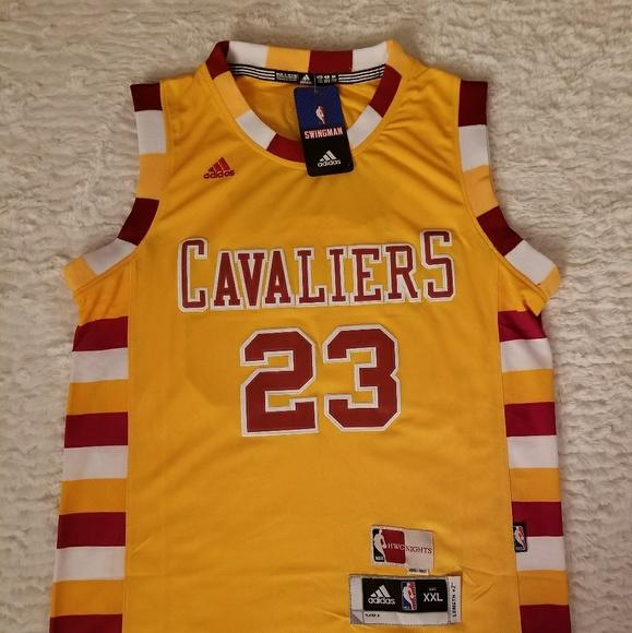 f455eaaa5 LeBron James Cavaliers The Finals Jersey